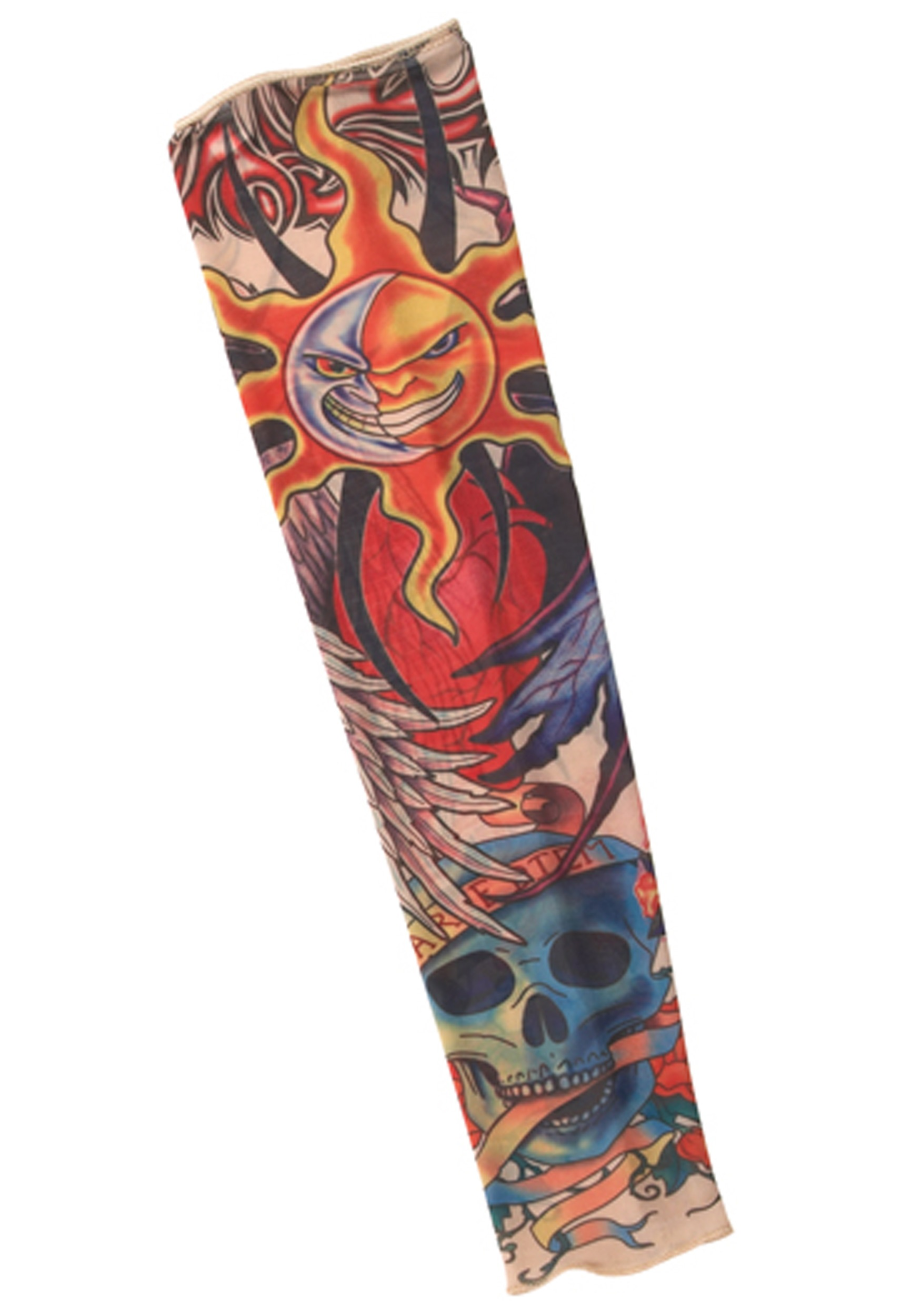 Halloween Rockstar.Rock Star Tattoo Sleeve