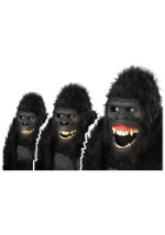 Adult Goin Ape Gorilla Mask