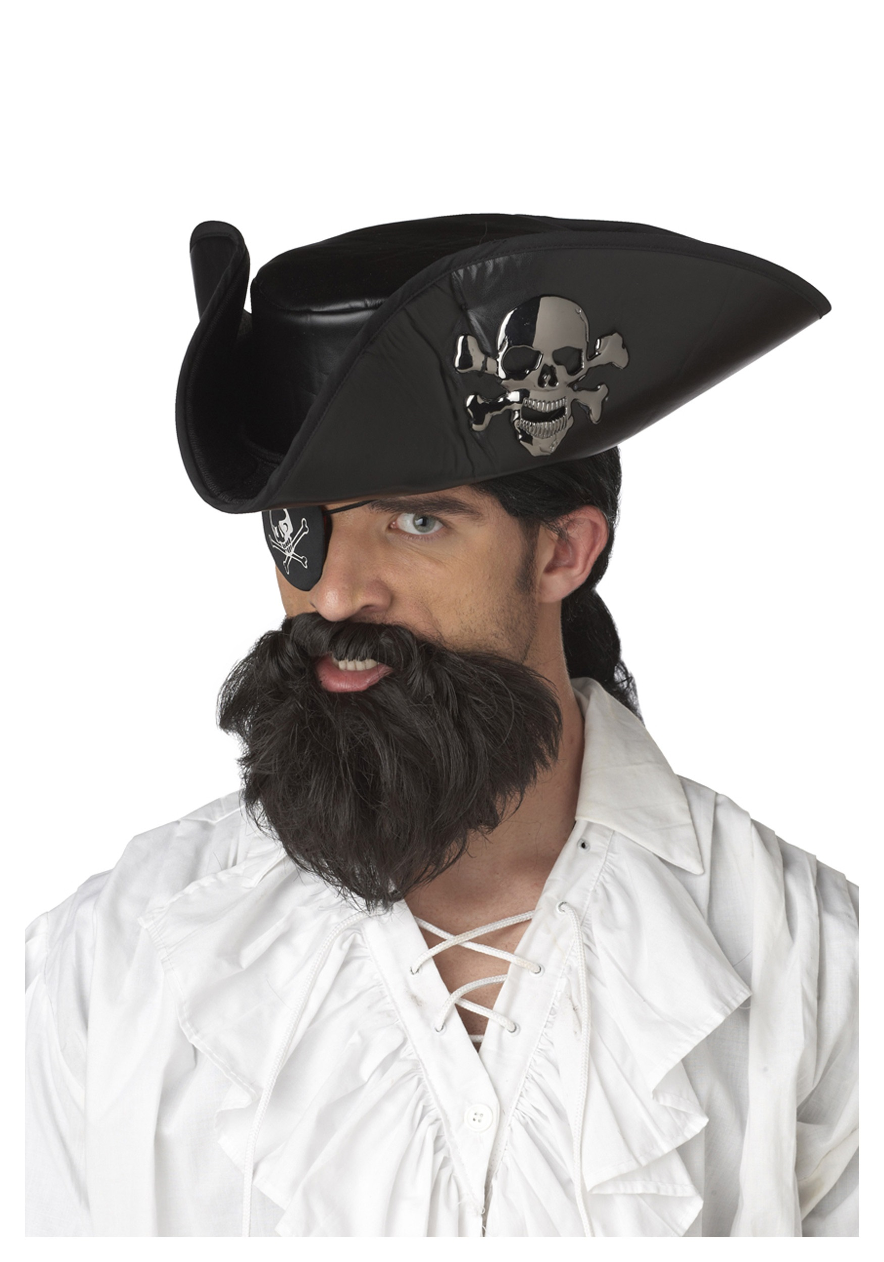 607730f5454 Blackbeard Pirate Beard - Pirate Costume Accessories