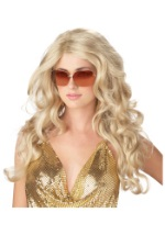 Supermodel Blonde Wig