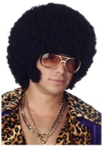 Disco Afro with Mutton Chops Wig