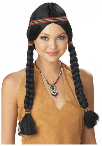 Indian Braided Pig Tail Wig