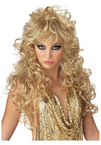 Seductive Golden Wig