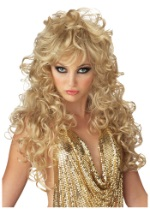 Seductive Golden Wig