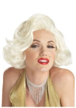 Platinum Marilyn Costume Wig