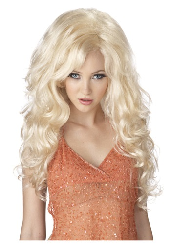 Bleach Blonde Bombshell Wig