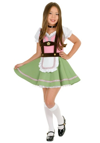 Kids Swiss Alps Girl Costume