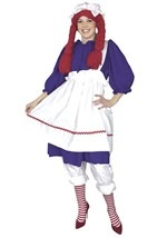 Plus Size Womens Rag Doll Dress