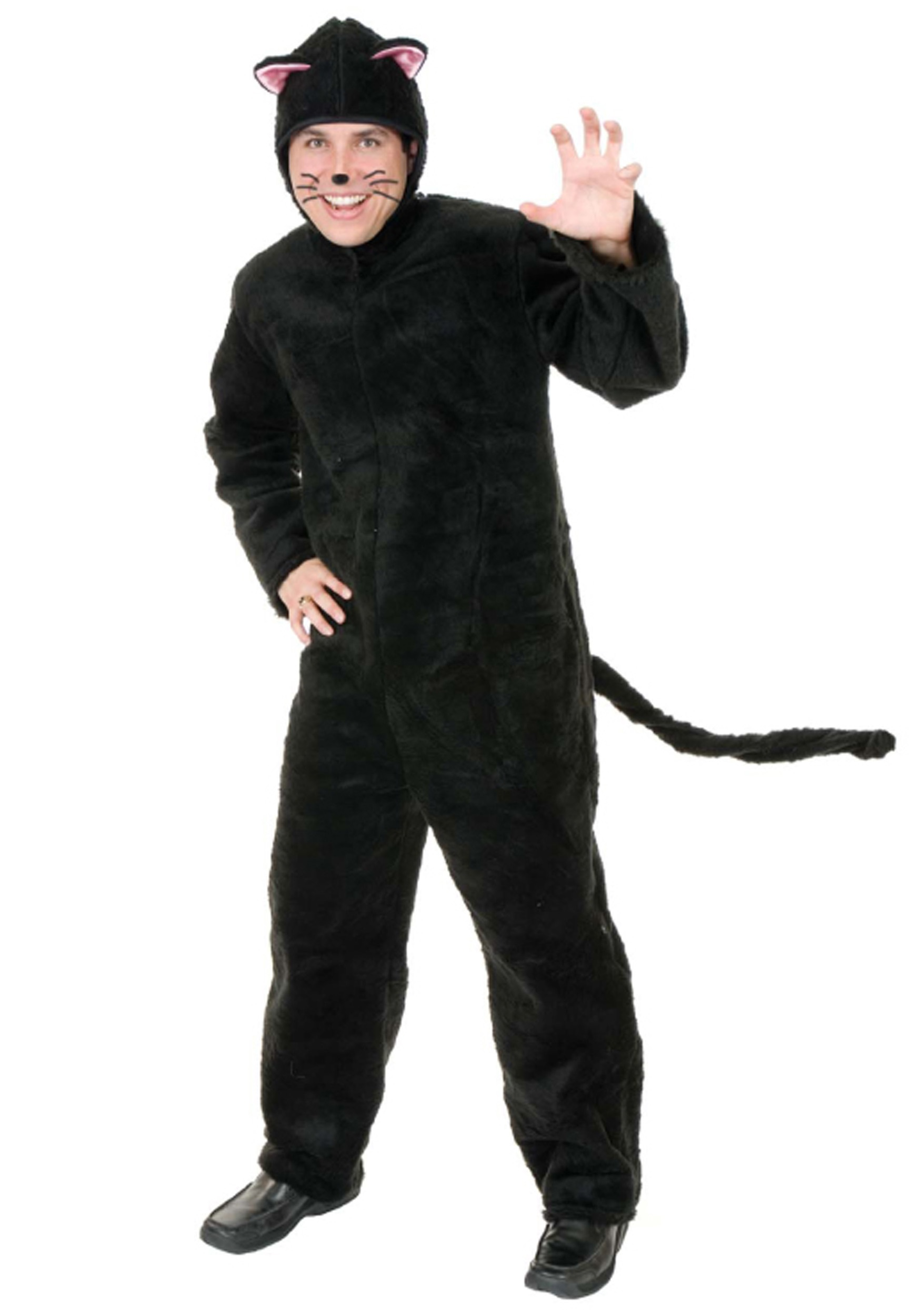 Adult Black Cat Costume  sc 1 st  Halloween Costume : black costumes for men  - Germanpascual.Com