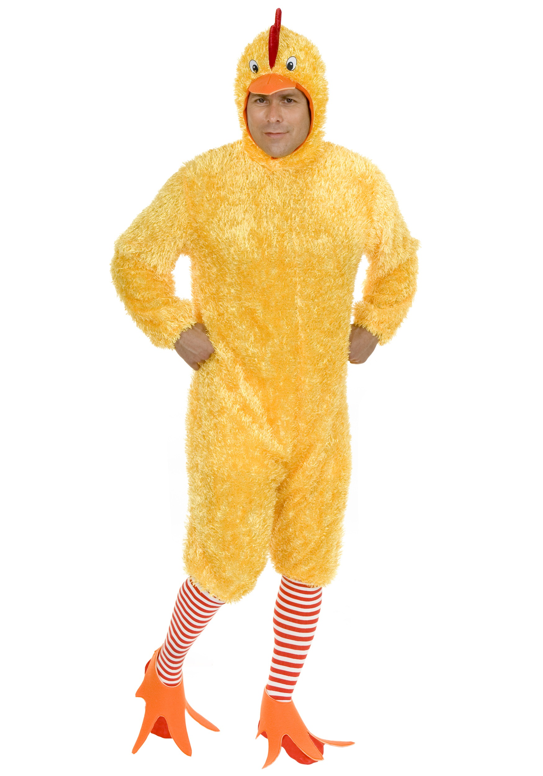 Mens Costumes Halloween | Funky Chicken Mens Costume Adult Funny Halloween Costumes