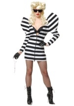 Ladies Pop Star Prison Costume