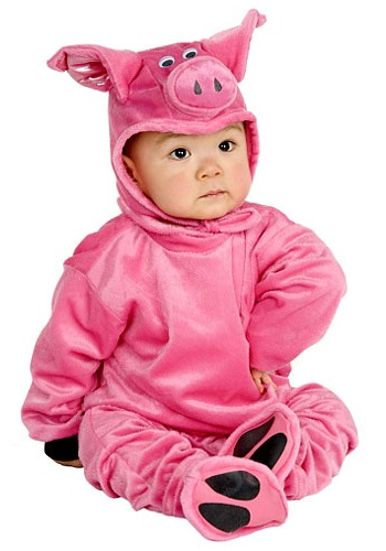 Little Piggy Costume  sc 1 st  Halloween Costume & Little Piggy Costume - Baby Animal Costumes