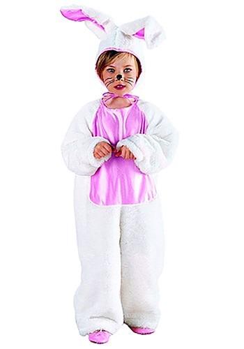Girls Pink Bunny Costume