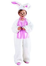 Girls Pink Bunny Costume