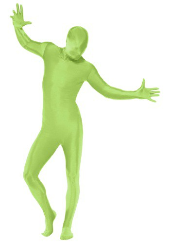 Green Full Body Suit