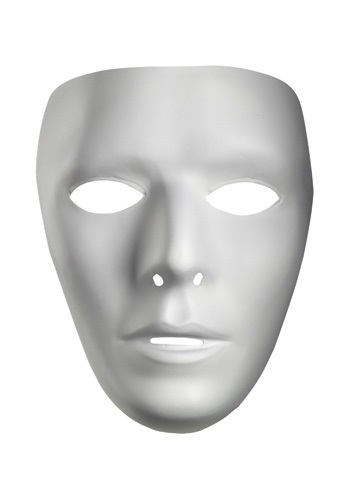 Men's White  Mask