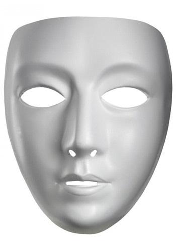 blank masquerade masks