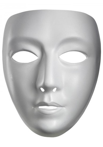 Female Blank Mask