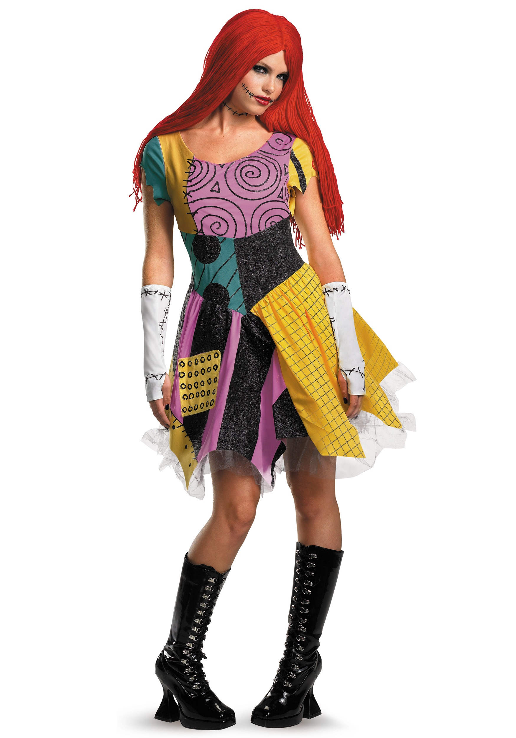 Adult Sexy Sally Costume  sc 1 st  Halloween Costume & Adult Disney Costumes - Men and Women Disney Halloween Costume
