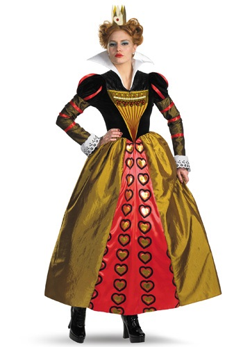 Red Queen Wonderland Costume