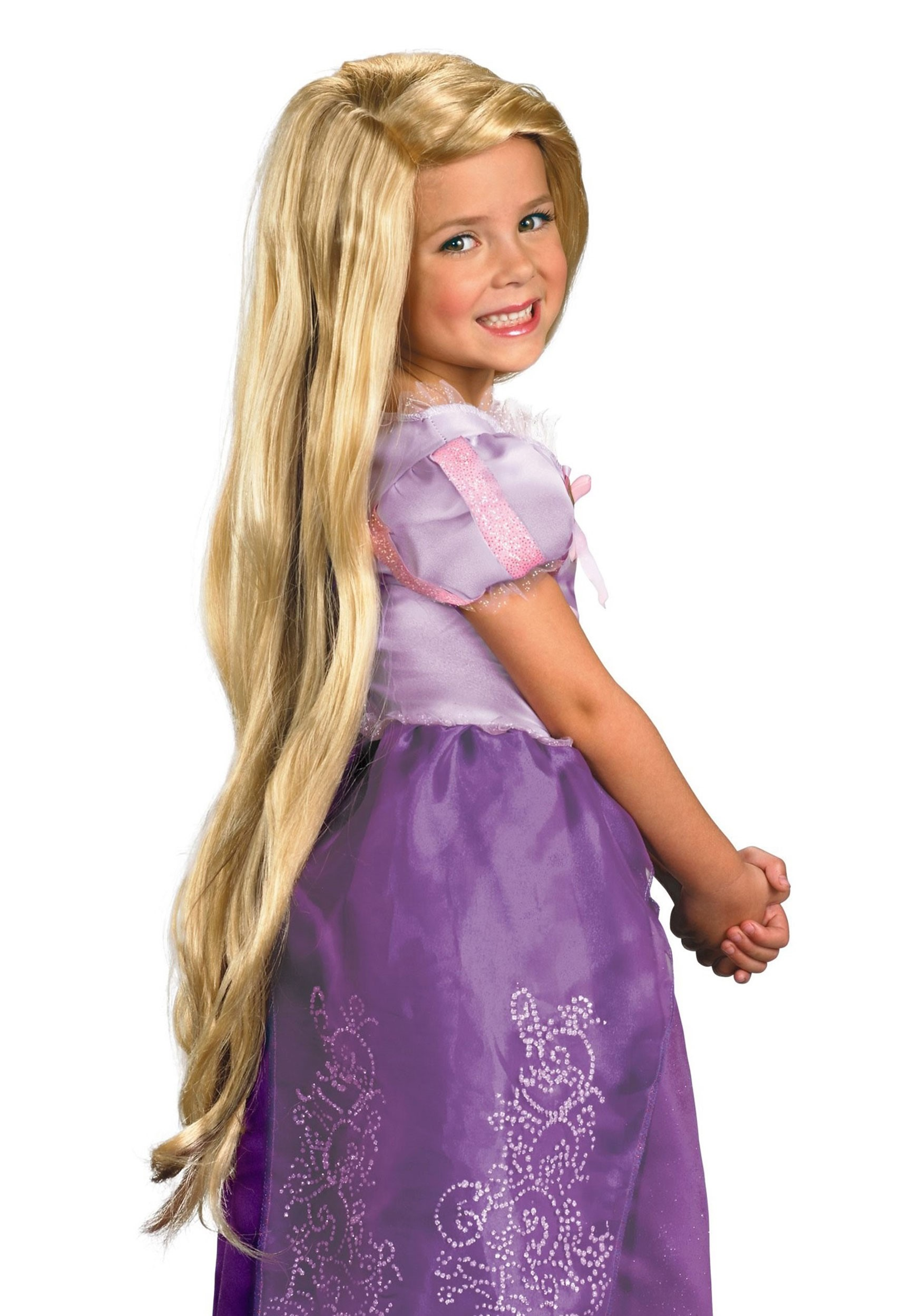 Disney Tangled Wig Child Long Rapunzel Princess Wig