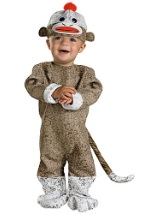 Baby Sock Monkey Toy Costume