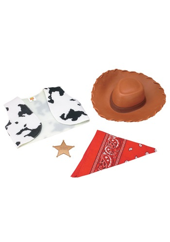 Cowboy Woody Costume Kit