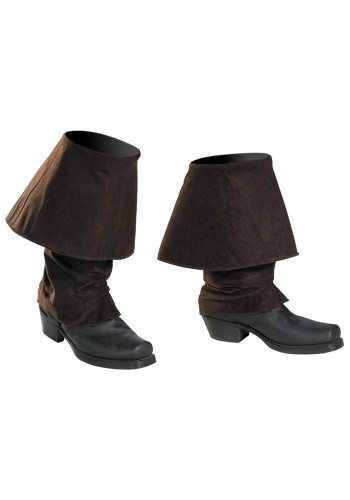 Captain Jack Sparrow Adult Boot Covers