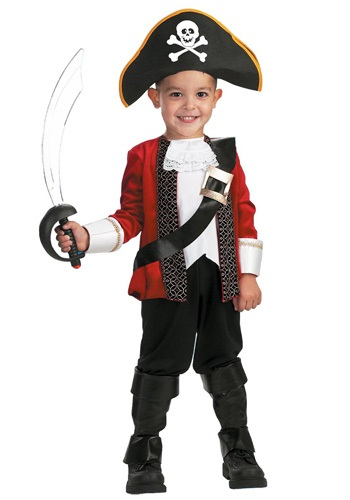 Child El Capitan Pirate Costume