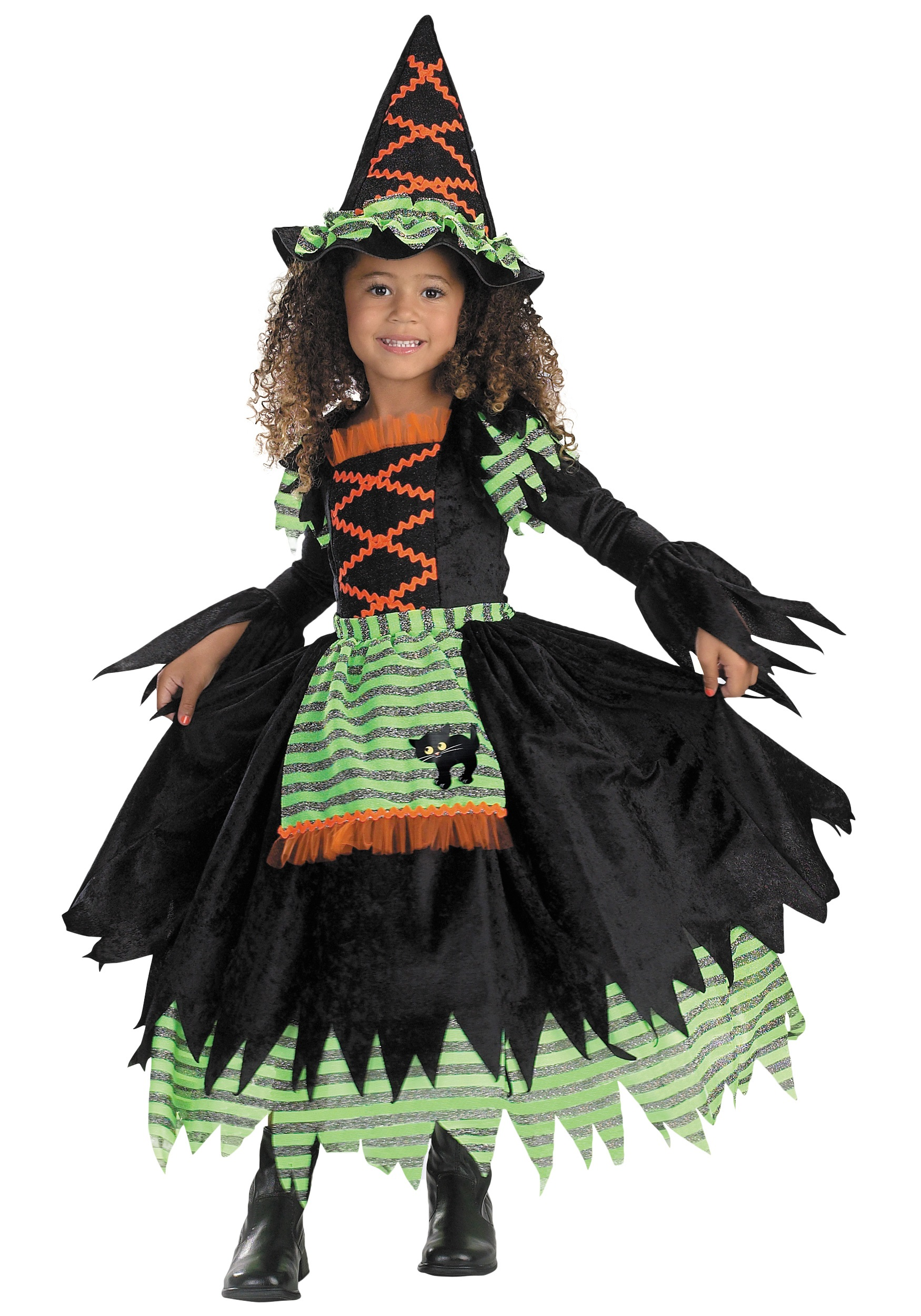 Toddler Storybook Witch Costume  sc 1 st  Halloween Costume & Toddler Storybook Witch Costume - Cute Witch Costumes for Kids