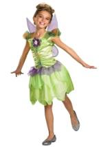 Girls Tinkerbell Fairy Costume