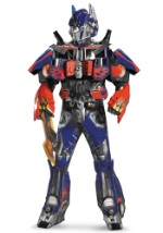Authentic Mens Optimus Prime Costume