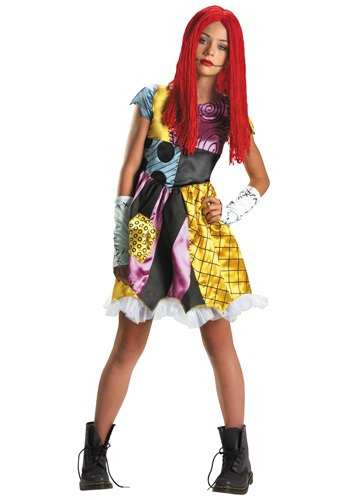 Teen Nightmare Sally Rag Doll Costume