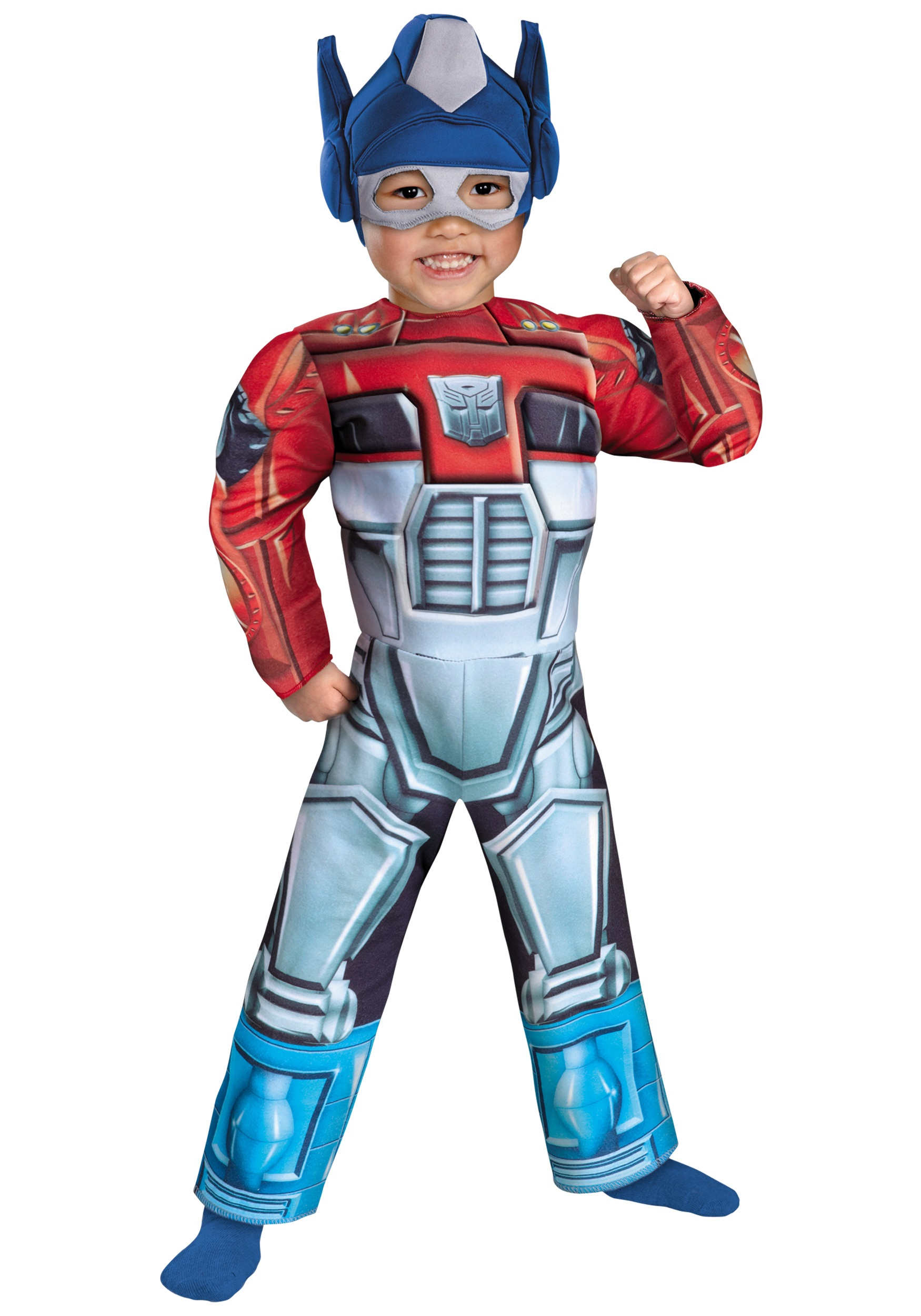 Toddler Optimus Prime Rescue Bot Costume - Transformer Costumes