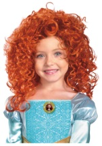 Curly Red Merida Wig