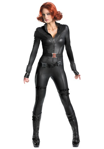 Avengers Exact Replica Black Widow Costume