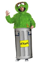 Oscar the Grouch Men's Costume