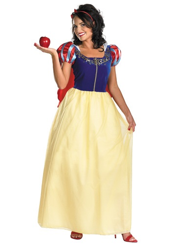 Plus Size Deluxe Snow White Costume