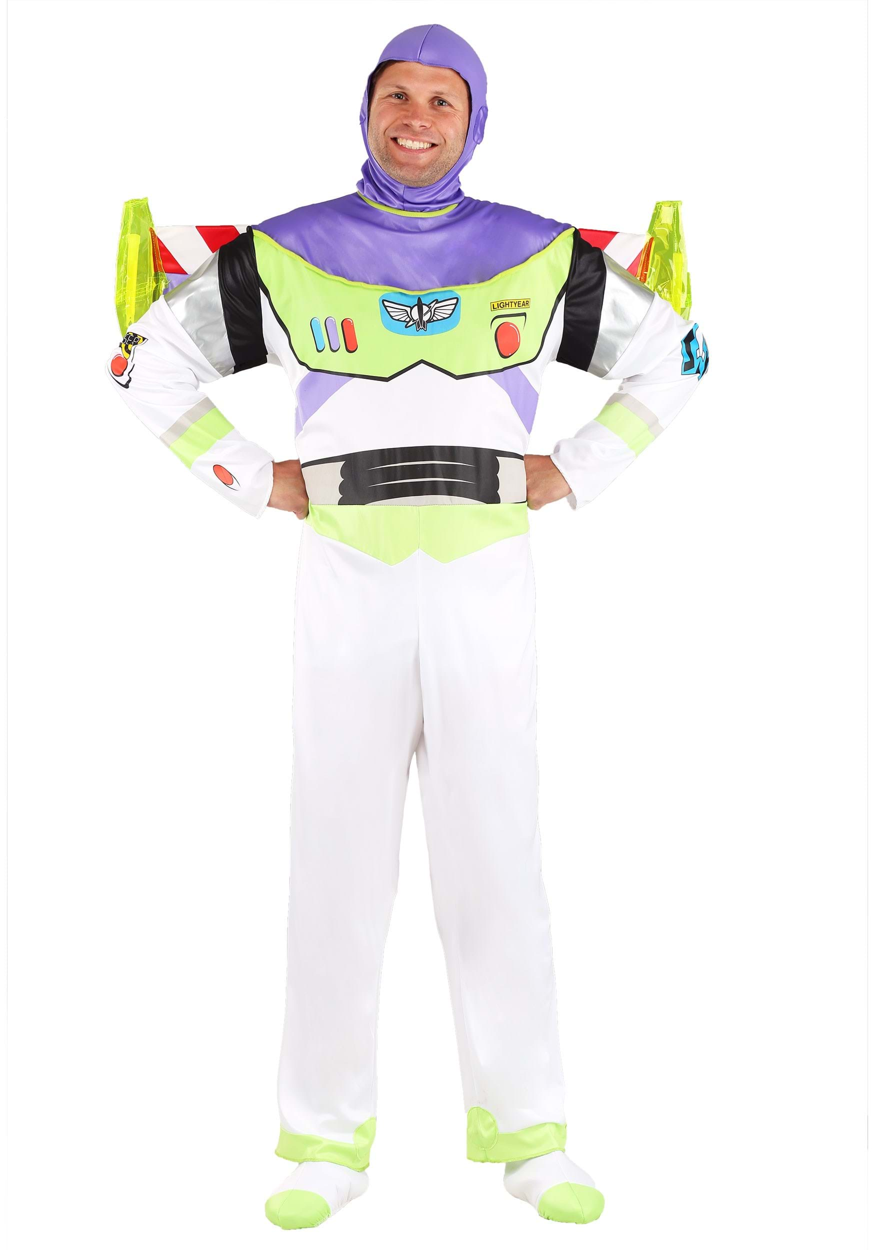 Buzz Lightyear Adult Costume  sc 1 st  Halloween Costume & Buzz Lightyear Adult Costume - Disney Buzz Lightyear Costumes