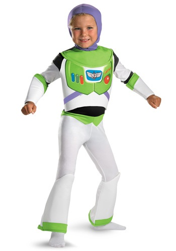 Kids Deluxe Buzz Lightyear Costume