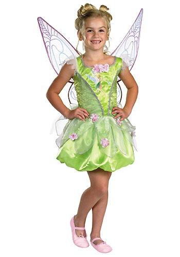 Deluxe Girls Tinkerbell Costume