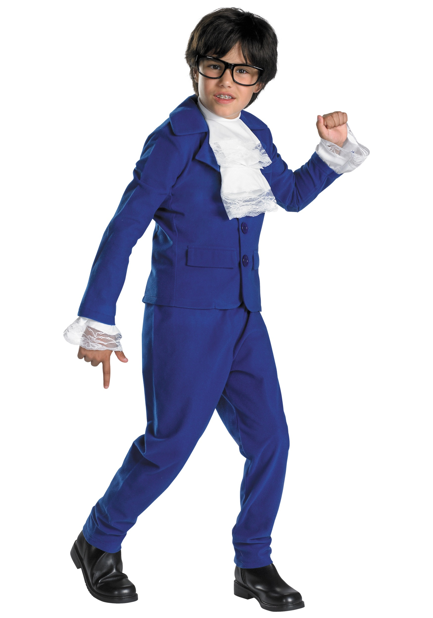 Child austin powers costume kids austin powers costumes for Easy toddler boy halloween costumes