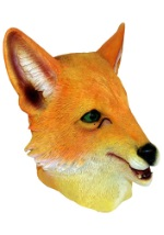 Molded Vinyl Red Fox Mask