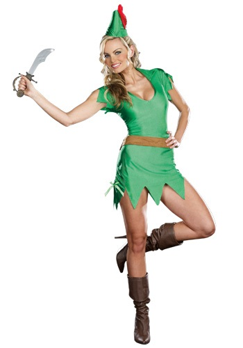 Peter Pan Ladies Costume