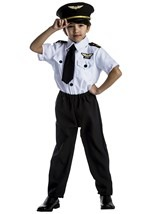 Young Pilot Captain Costume