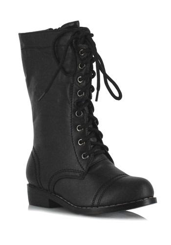 Boys Black SWAT Boots
