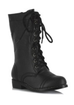 Boys Black SWAT Boots