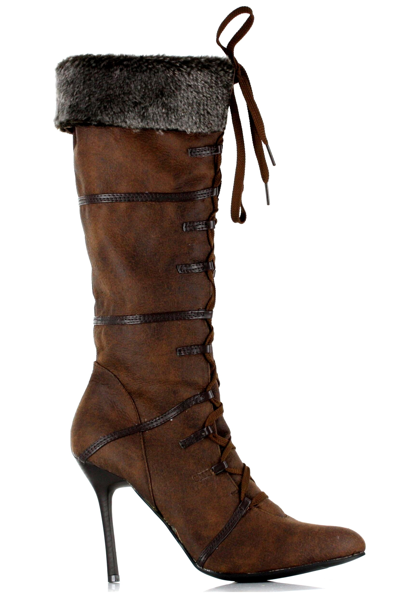 brown boots womens robin costume accessories