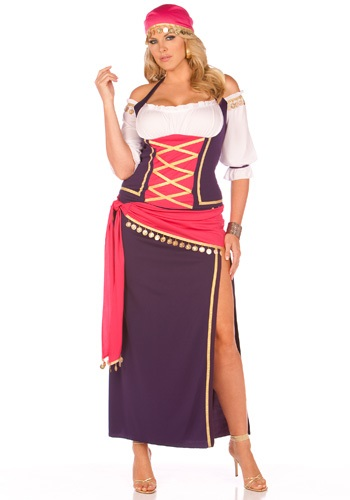 Plus Harem Maiden Costume