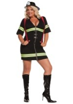 Plus Size Hot Firegirl Costume